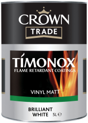 'Farba biała CROWN TRADE SILK TIMONOX BRILLIANT WHITE 5L