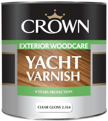 Lakier do drewna Crown Yacht Varnish