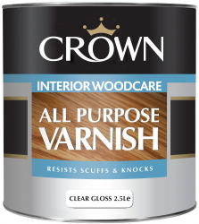 Uniwersalny lakier do drewna All Purpose Varnish Satin